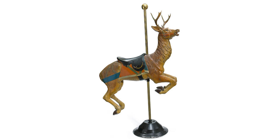Detzel Carousel Stag- on inspection