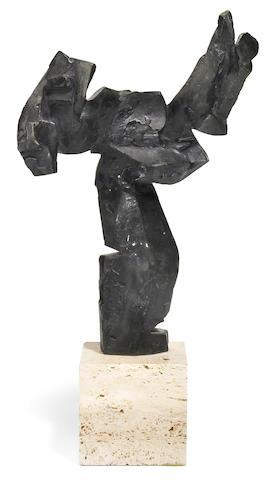 Dimitri Hadzi (American, 1921-2006) Daedelus, 1970-1971 overall dimensions 16 1/2 x 8 x 4in (41.9 x 20.3 x 10.2cm)