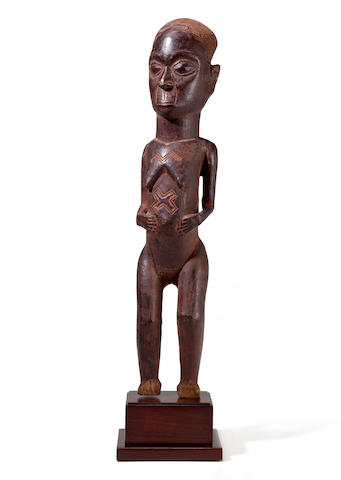 Kuba Standing Female Figure, Democratic Republic of the Congo