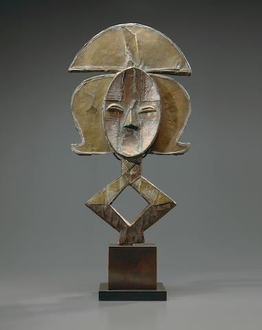 Kota Reliquary Figure, Gabon