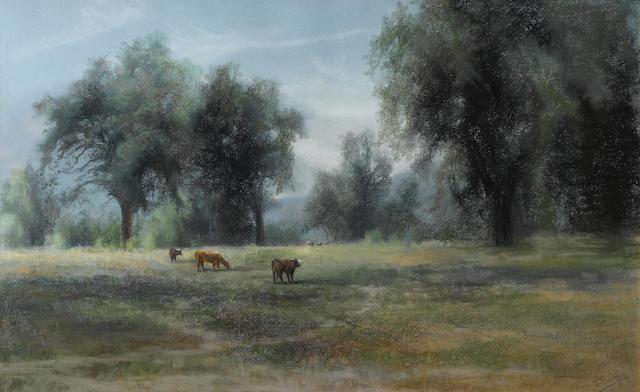 Charles Dorman Robinson, Pastoral Landscape