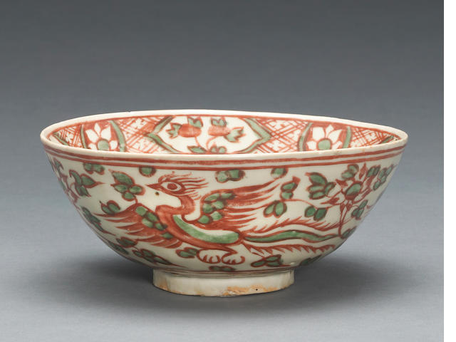 A Swatow bowl late Ming Period