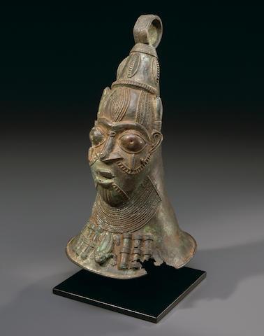 Rare Yoruba Copper Bell, Nigeria/Benin