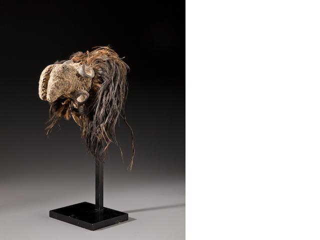 Jompre Crest Mask, Nigeria  height in (25cm)