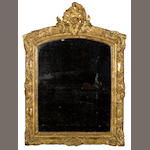 An early Régence giltwood mirror<br> first quarter 18th century