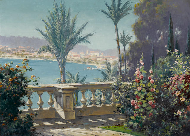 Clarkson Dye, Painting of Santa Barbara