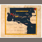 1513 Ptolemy New World Admiral's Map