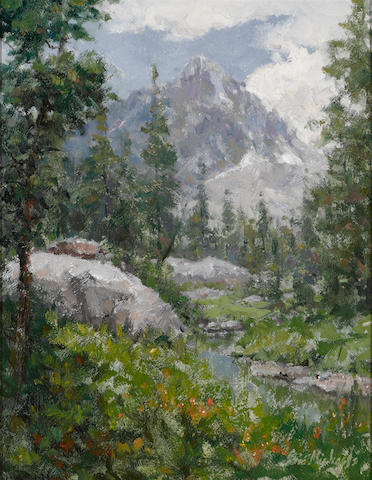 Eric Michaels (American, born 1949) Kings canyon 18 x 14in