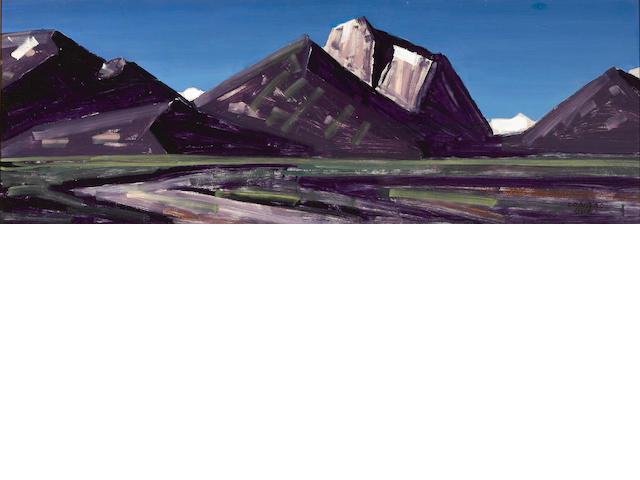 Conrad Buff, Mountain Range