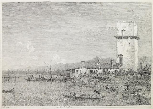 Antonio Canal, known as il Canaletto (Italian, 1697-1768); La Torre di Malghera;