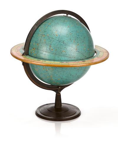 A 16-inch celestial table globe