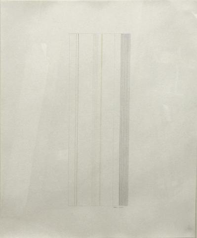 Gene Davis (American, 1920-1985) Untitled, 1973 29 x 23in