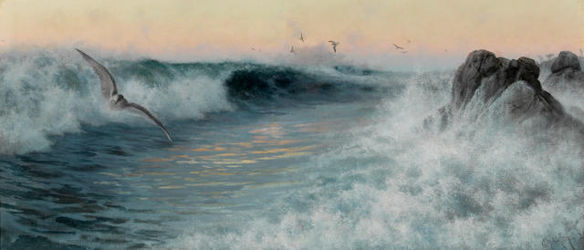 Charles Dorman Robinson, The Surge on the Pacific, Monterey