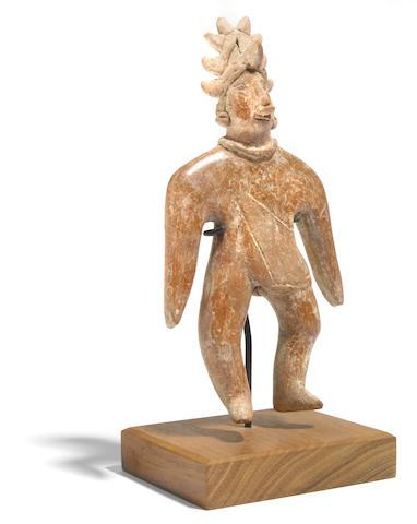 Colima flat figure of a shaman