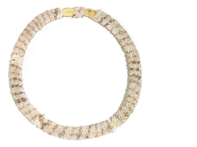 Shell Necklace, Austral Islands