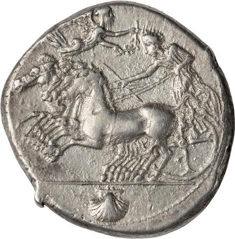 Sicily, Syracuse, c. 415-405 BC, Tetradrachm
