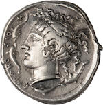 Sicily, Syracuse, Tetradrachm, c. 415-405 BC