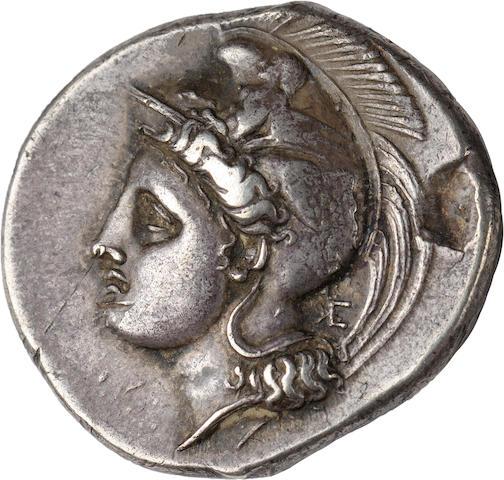 Bruttium, Velia, Stater, c. 360-350 BC