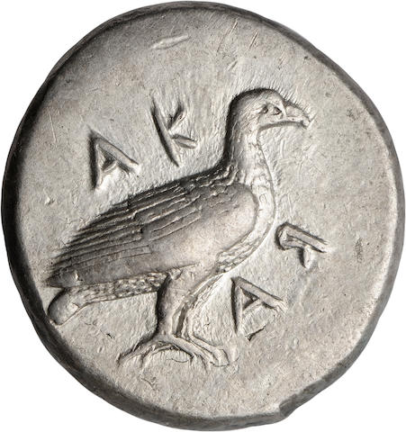 Sicily, Akragas, Didrachm, 483-472 BC