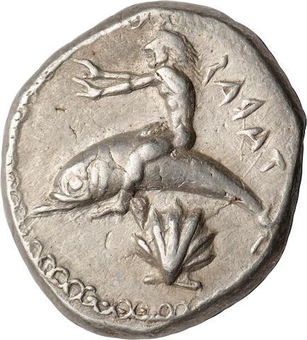 Calabria, Tarentum, Stater, 480-470 BC