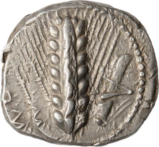 Lucania, Metapontum, Nomos, 470-440 BC