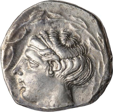Bruttium, Terina, Stater, 445-425 BC