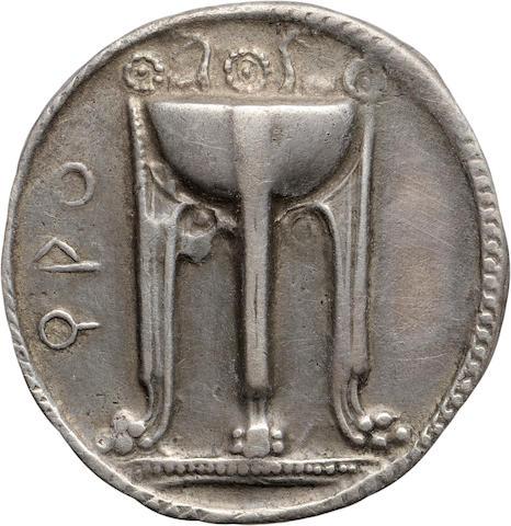 Bruttium, Croton, Nomos, c. 530-500 BC