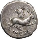 Sicily, Messana, Tetradrachm, 438-434 BC