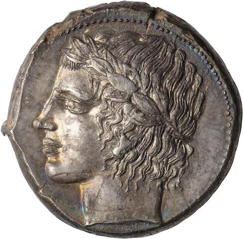 Sicily, Leontini, Tetradrachm, c. 425 BC