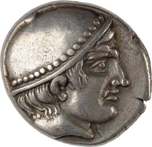Thrace, Ainos, Tetradrachm, 410/9-409 BC