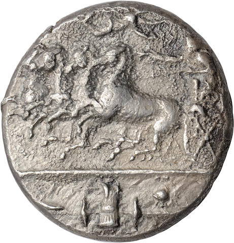 Sicily, Syracuse, Decadrachm, 405-380 BC