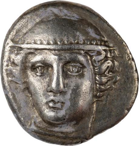 Thrace, Ainos, Tetradrachm, 376/5-374/3 BC