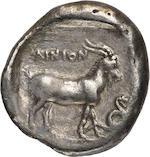 Thrace, Ainos, Tetradrachm, 376-374 BC
