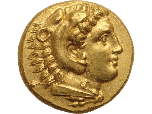 Mysia, Pergamum, Gold Stater  Mysia, Pergamum, after 336 BC