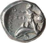 Calabria, Tarentum, Stater, 302-281 BC