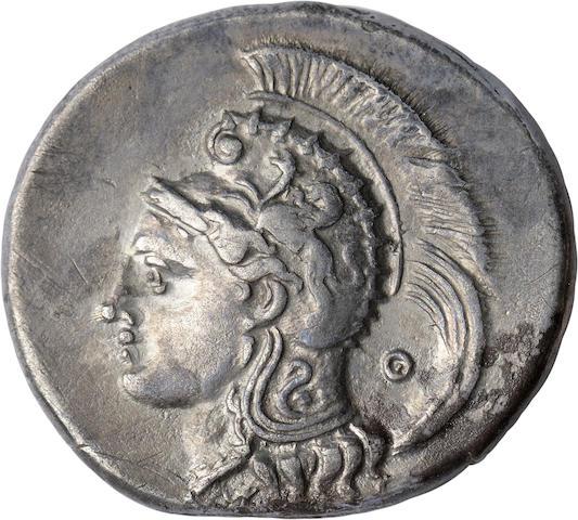 Lucania, Velia, Nomos, c. 300-280 BC