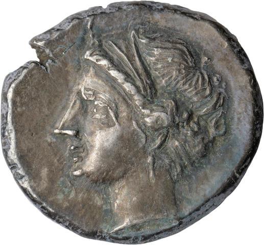 Calabria, Tarentum, Didrachm, 281-228 BC