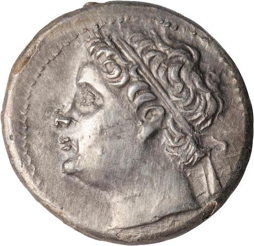 Sicily, Syracuse, Hieronymos, 216-214 BC, 10 Litrai
