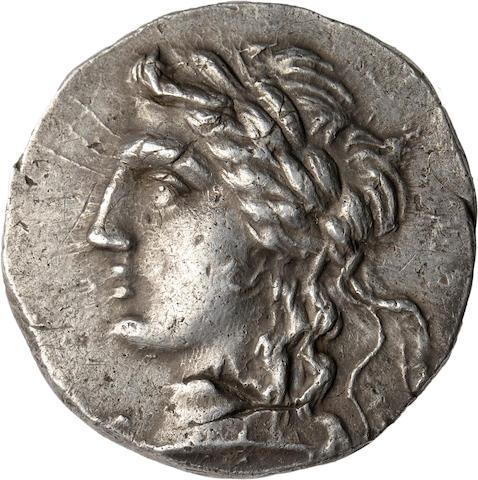Troas, Alexandria Troas; Tetradrachm, Year 214=87 BC