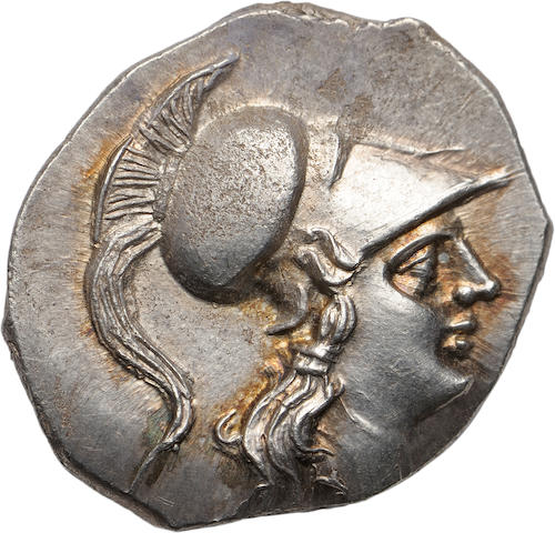 Metapontum under Hannibal, Half Shekel, c. 212-207 BC