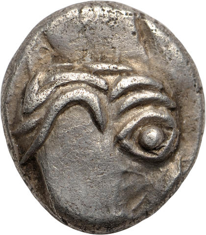 Eastern Celtic Imitation of Philip II - Kapostal Type, Obol, 2nd-1st Century BC