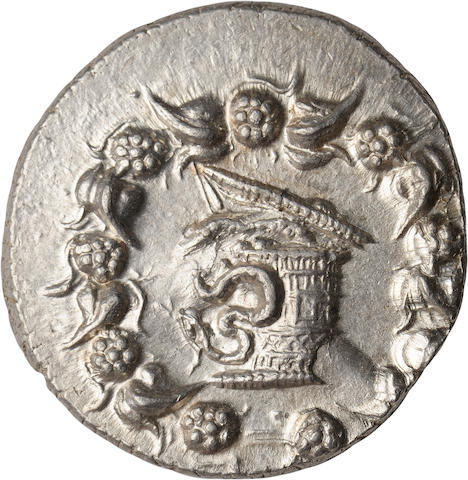 Mysia, Tralles, Cistophoric Tetradrachm, After 133 BC