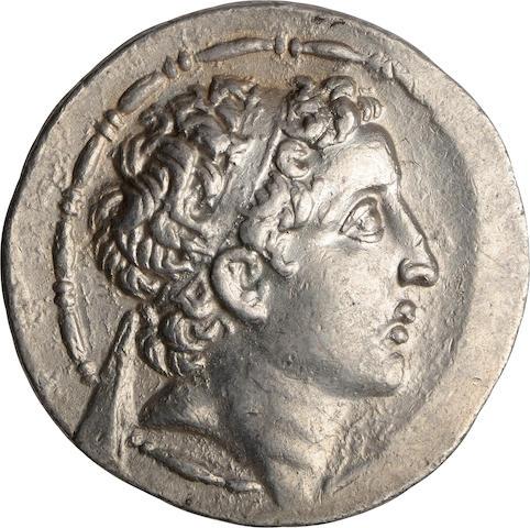 Cappadocian Kingdom, Ariarathes VII, 116-101 BC, Tetradrachm