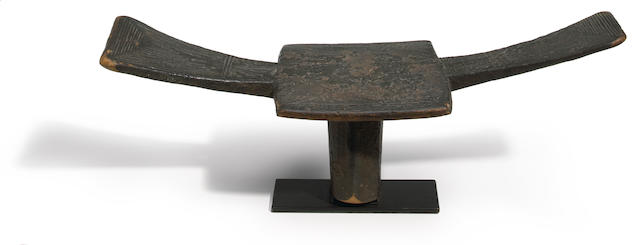 "Kuba ""Tip"" Stool, Democratic Republic of the Congo"