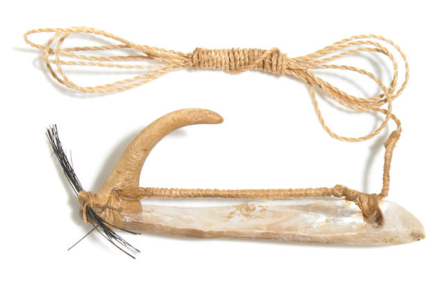 Composite Bonito Fish Hook, Hawaiian Islands