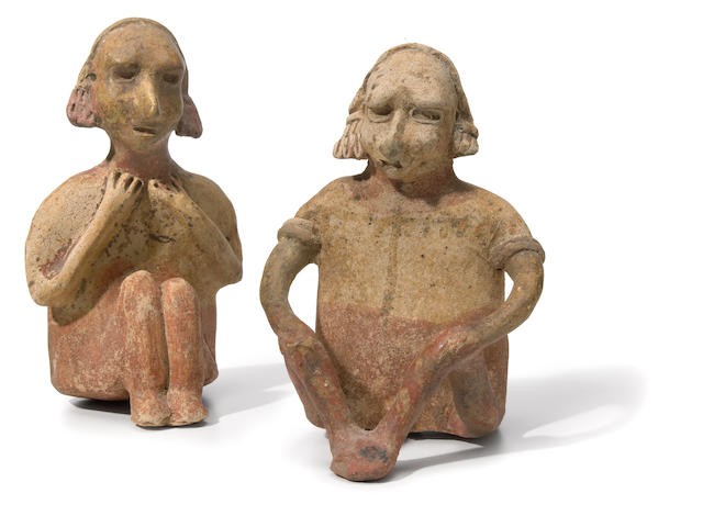 Jalisco Seated Couple,<br>Protoclassic, ca. 100 B.C.-A.D. 250