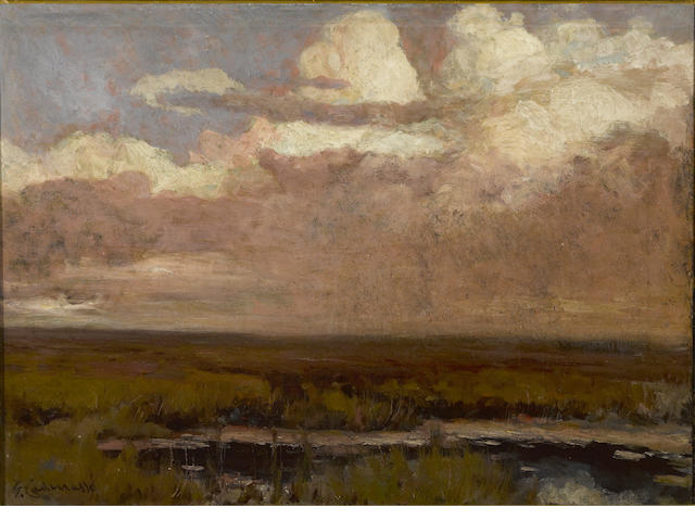 G. Cadenasso, Storm over Marsh