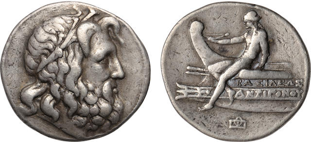 Kingdom of Macedon, Antigonus Gonatas, 277-239 BC, Tetradrachm