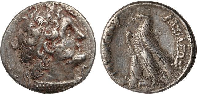 Ptolemaic Kingdom, Ptolemy VI Philometer, ca. 186–145 BC, Tetradrachm