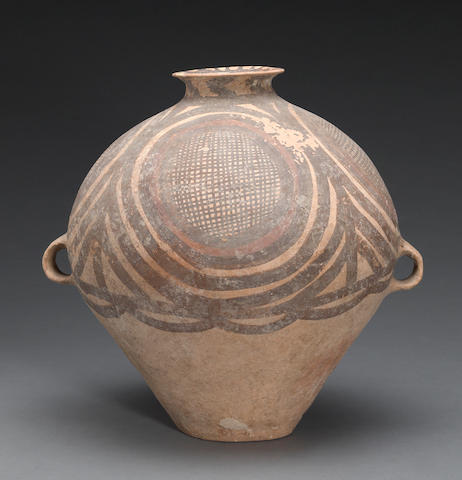 A Banshan style painted pottery jar Neolithic period